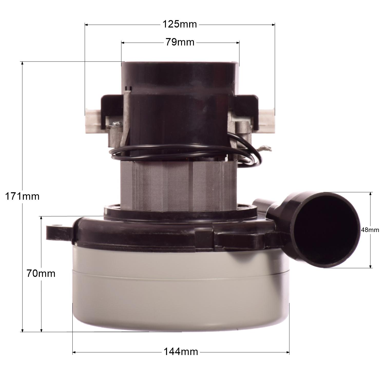 Saugmotor für Cleanfix RS 05 Motor Saugturbine Turbine Saugermotor